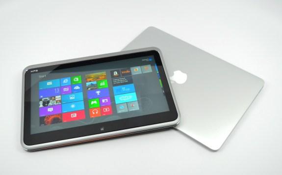 XPS 12 Ultrabook Convertible vs. MacBook Air - 07