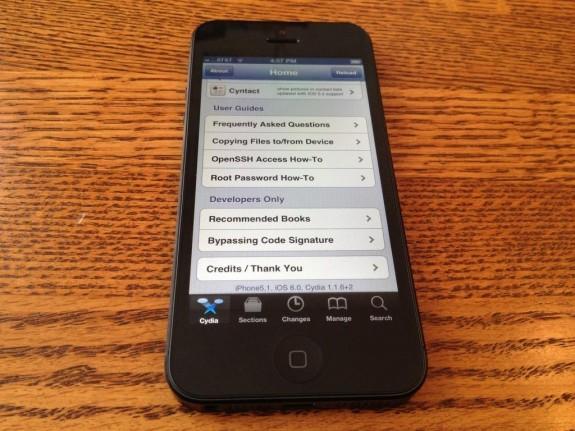 iPhone 5 jailbreak update