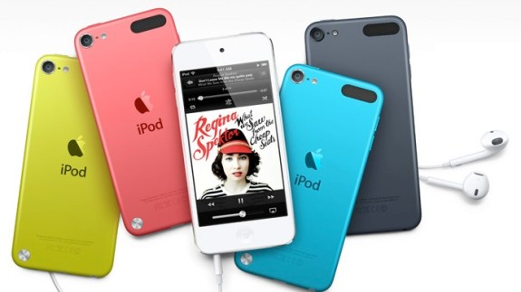iPhone 5S colors like iPod Touch 2013