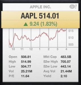 AAPL q1 2013 earnings