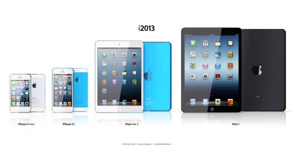 Apple iPhone 5S iPad 5 Lineup