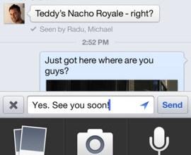 Facebook iOS 5.4
