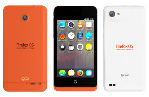 Firefox OS Developer Preview phones