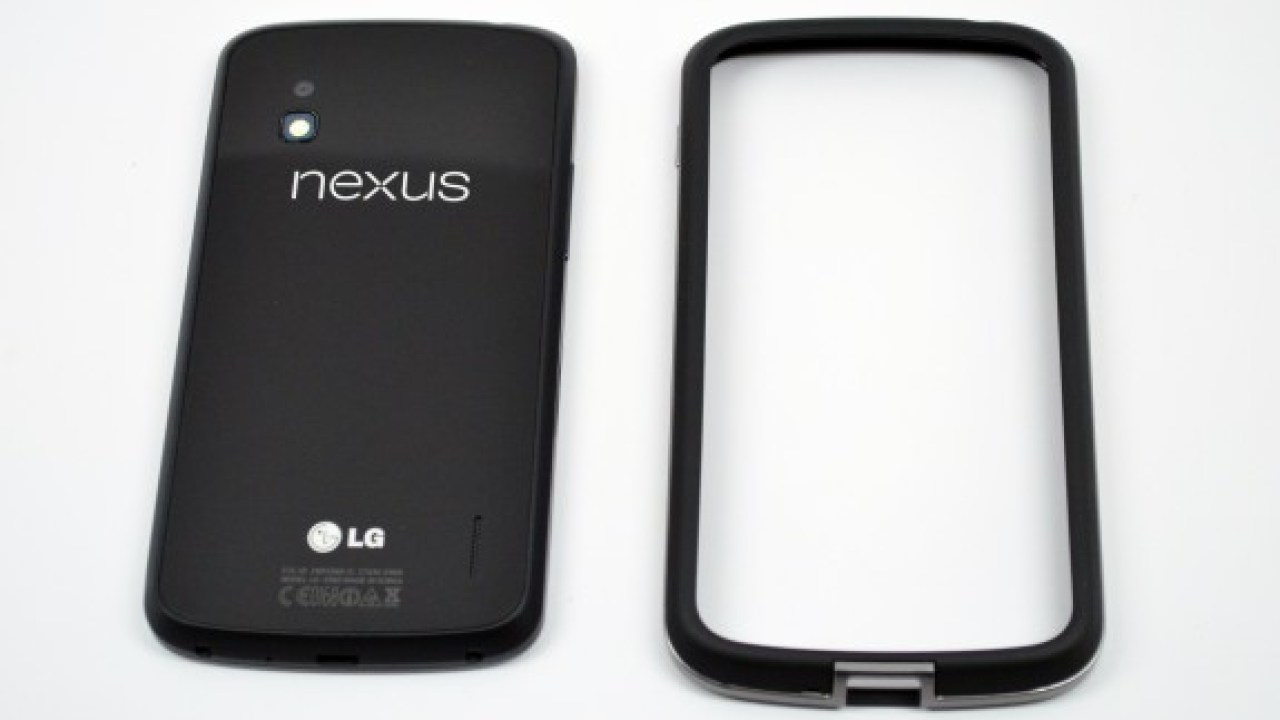 brand new 79ac4 cf7c4 Nexus 4 Bumper Case Returns to Google Play Store