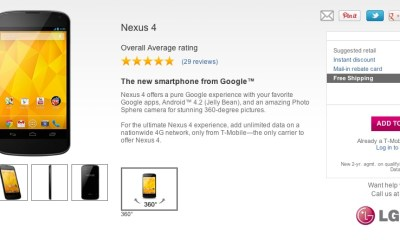Nexus 4 In Stock at T-Mobile