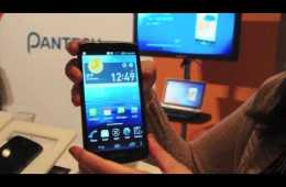 Video thumbnail for youtube video AT&T Pantech Discover Smartphone First Look (Video)
