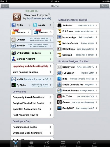 iPad 4 jailbreak iOS 6
