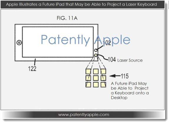 iPhone 5S laser keyboard