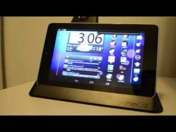 Video thumbnail for youtube video Nexus 7 Dock Review