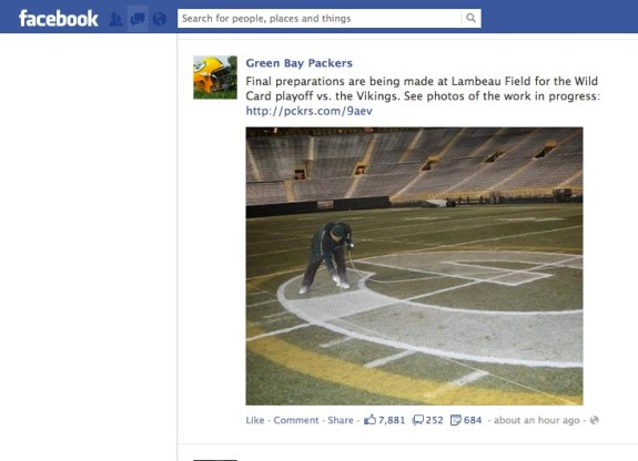 packers on facebook