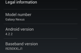 Android 4.2.2 Update