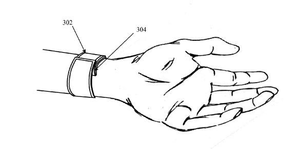 Apple iWatch Patent - 1