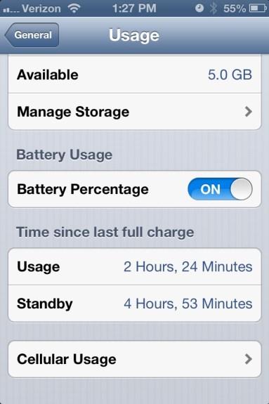 Bad iOS 6.1 Battery Life