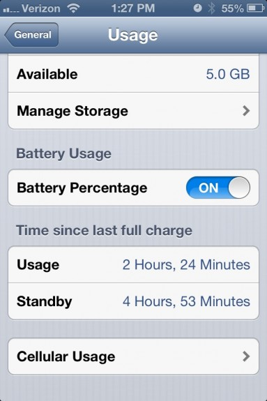 Bad iOS 6.1 battery life fix in iOS 6.1.1