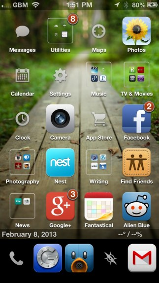 Best Cydia Themes - iOS 6 Winterboard Themes - Fifty