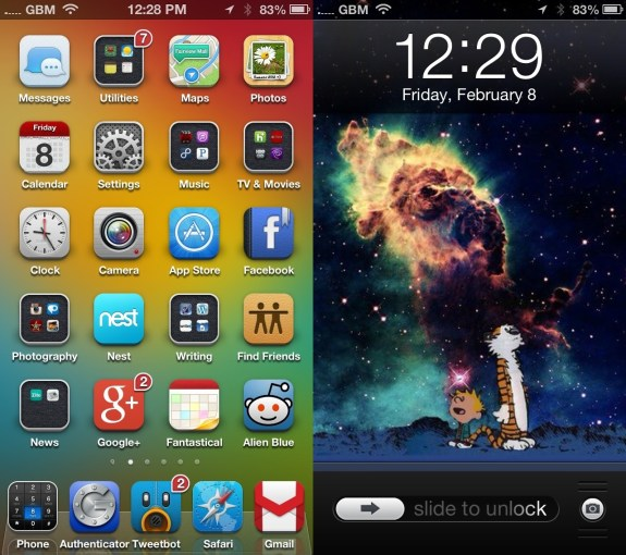 Best Cydia Themes - iOS 6 Winterboard Themes - ayecon