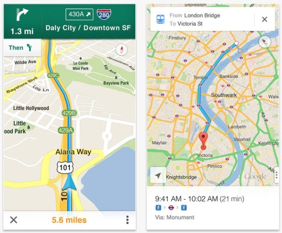 Google MapsOpener Cydia Tweak