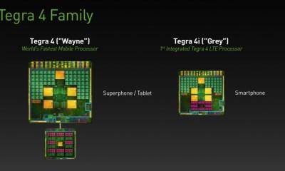 NVIDIA Tegra 4 and Tegra 4i