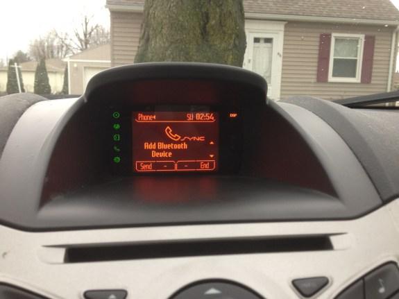 Sync Add Bluetooth Device