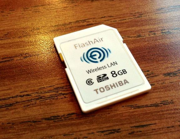 toshiba flashair sd card