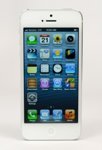 The iPhone 5 features a beautiful industrial design.