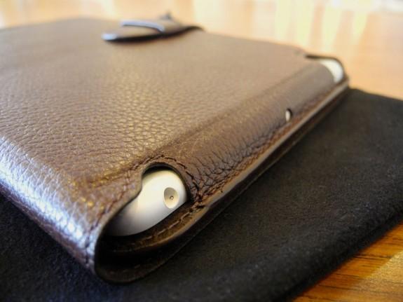 mapicases soli leather ipad mini top edge