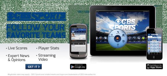 cbs sports mobile