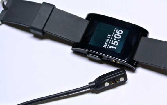 pebble charging cable