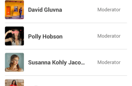 Some of the new member role editing options for communities in Google Plus.