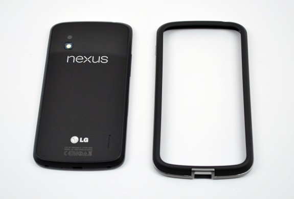 The Nexus 4 bumper is the Nexus 4's official case from Google.