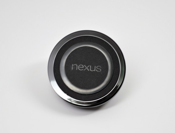 The Nexus 4 features built-in wireless charging.