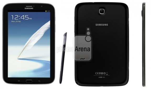 This could be the Galaxy Note 8.0 in black. It could also hint at a Galaxy S4 launch color.