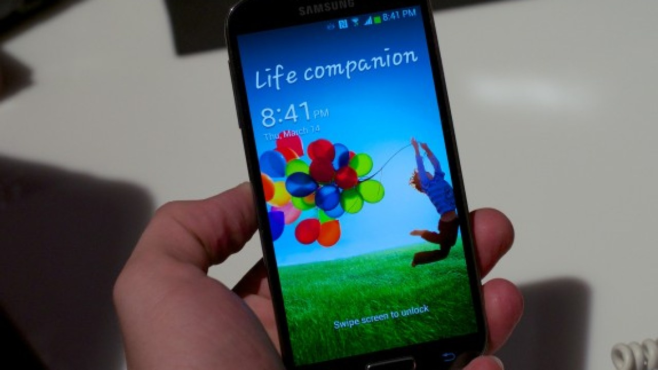 Samsung Galaxy S4 on AT&T Arrives With Locked Bootloader