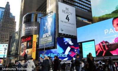 Another Samsung Galaxy S4 teaser ad in Times Square.