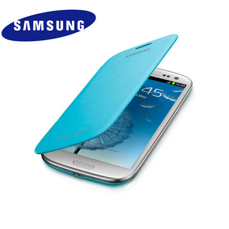 Expect to see a Samsung Galaxy S4 flip cover case, similar to this one.