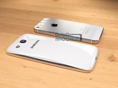 Samsung Galaxy S4 Concept vs iPhone 5