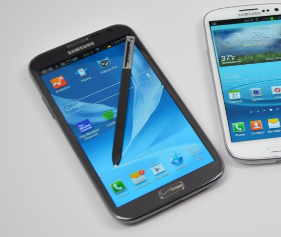 The Samsung Galaxy Note 3 may or may not come with a larger display.