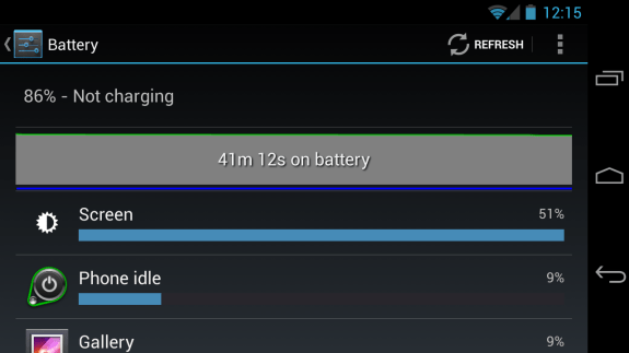 Android 4.2 seems to have brought battery life issues to Verizon Galaxy Nexus owners.