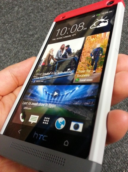 The HTC One has seen accessories arrive before its release.