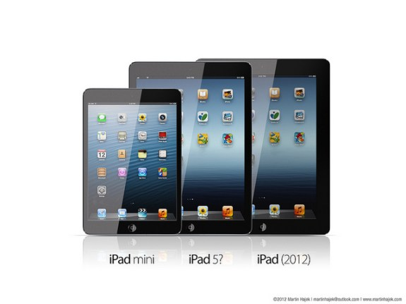The iPad 5 could look much more like the iPad mini, with thinner bezels and a thinner design.