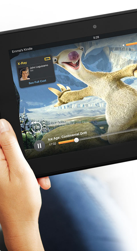 amazon kindle fire with x-ray movie and tv service form imdb