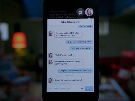 Chat Heads offers a new way to message people