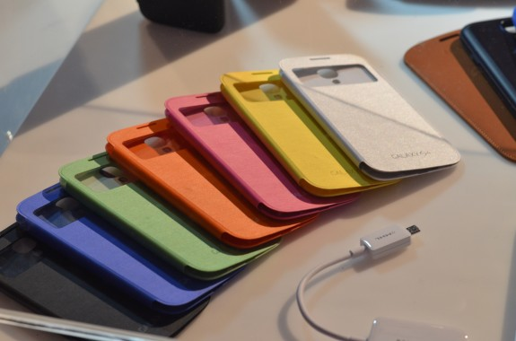 The X Phone may feature several color options to choose from, unlike the Galaxy S4 which requires a case.