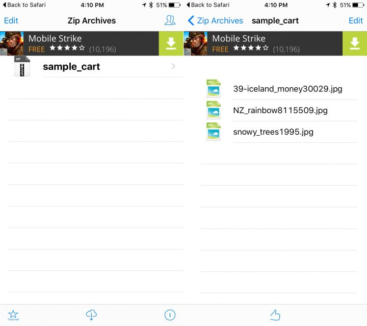 open zip files on iphone how to and open zip files on the iphone 17877