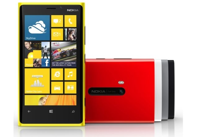 Nokia Issues fix for Lumia 920 Data Connection Issue