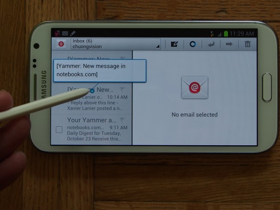 The Galaxy Note 2 is still stuck on Android 4.1 Jelly Bean. The Galaxy Note on AT&T is still on Android 4.0.