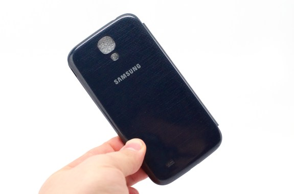 The Samsung Galaxy S4 Flip Cover is a nice case.