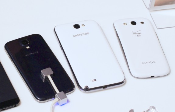 The Samsung Galaxy S4, Galaxy S3 and Samsung Galaxy Note 2 are on tap to help deliver a higher profile and higher profits.