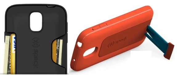Speck offers four Samsung Galaxy S4 cases.
