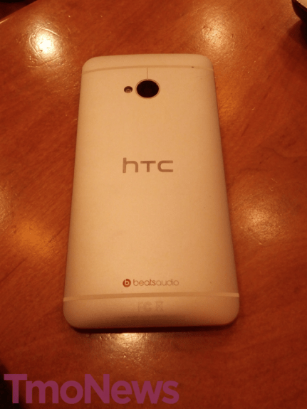 This is the back of the T-Mobile HTC One.
